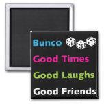 bunco good friends #2 magnet