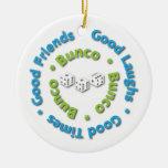 bunco good friends christmas ornament