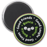bunco good friends magnets