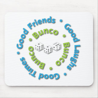 bunco good friends mouse pad
