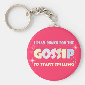 Bunco Gossip Basic Round Button Keychain