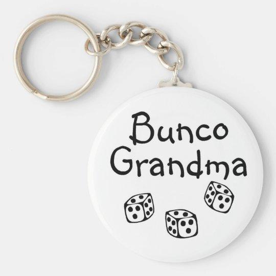 Bunco Grandma Keychain