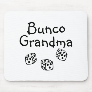 Bunco Grandma Mouse Pad