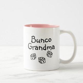 Bunco Grandma Two-Tone Coffee Mug