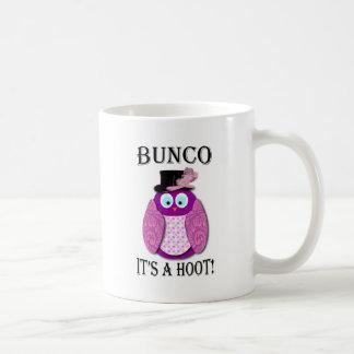 "Bunco - It's A Hoot"" Coffee Mug"