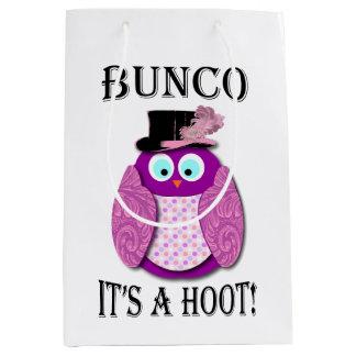 Bunco It's A Hoot Medium Gift Bag
