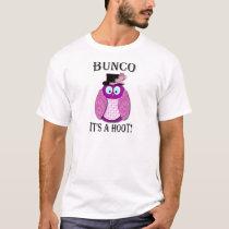 "Bunco - It's A Hoot"" T-Shirt"