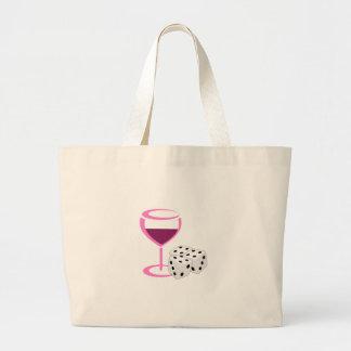 Bunco Ladies Night Large Tote Bag