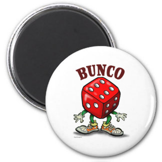 Bunco 2 Inch Round Magnet