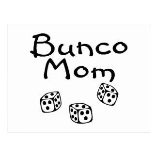 Bunco Mom Postcard