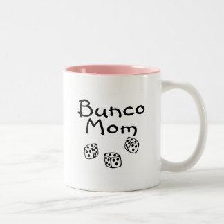 Bunco Mom Two-Tone Coffee Mug