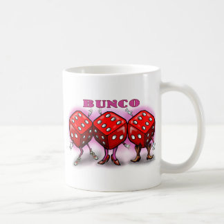 Bunco Classic White Coffee Mug