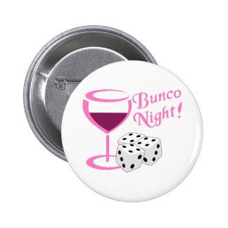 Bunco Night 2 Inch Round Button