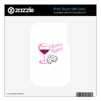 Bunco Night Decal For iPod Touch 4G