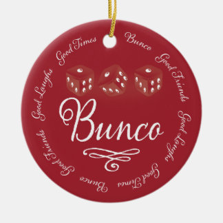 Bunco Ornament Good Laughs