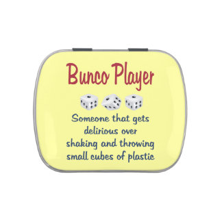 Bunco Player -Definition Jelly Belly Candy Tin