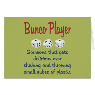Funny Bunco Cards And More: quoteko.com/funny-bunco.html