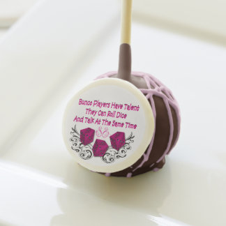 Bunco Players Have Talent Cake Pops