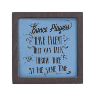 Bunco Players Have Talent With Crown Keepsake Box