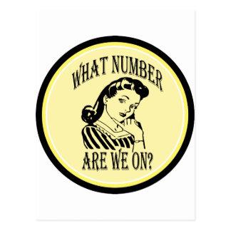 Bunco qué número es nosotros en #2 tarjetas postales