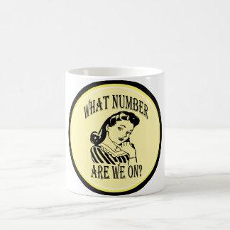 Bunco qué número es nosotros en #2 taza básica blanca