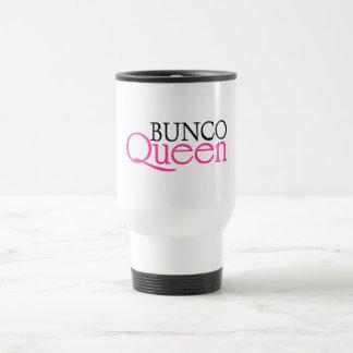 Bunco Queen 15 Oz Stainless Steel Travel Mug
