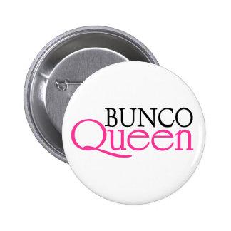 Bunco Queen 2 Inch Round Button