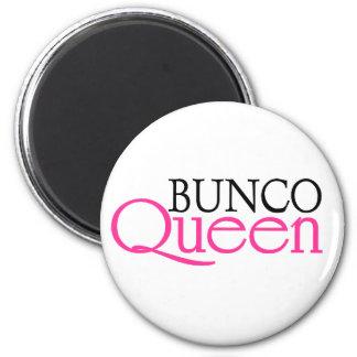 Bunco Queen 2 Inch Round Magnet