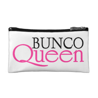 Bunco Queen Cosmetic Bag