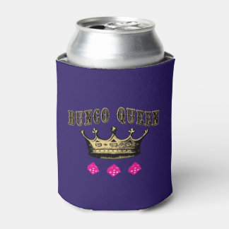Bunco Queen Crown Can Cooler
