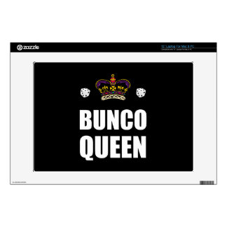 """Bunco Queen Dice 13"""" Laptop Skins"""