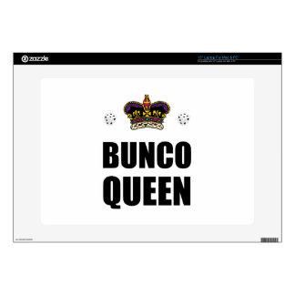 "Bunco Queen Dice Decal For 15"" Laptop"