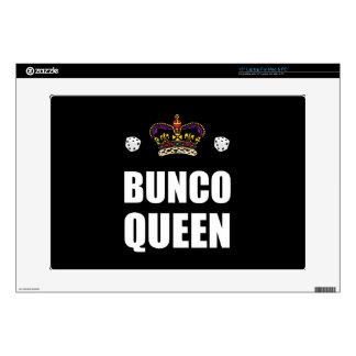 Bunco Queen Dice Decals For Laptops