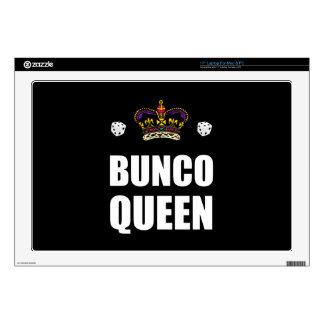 Bunco Queen Dice Laptop Decal