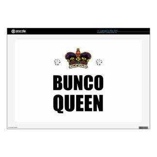Bunco Queen Dice Laptop Decals