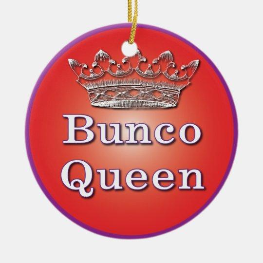 Bunco Queen Ornament