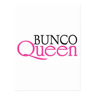 Bunco Queen Postcard
