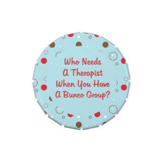 Bunco - quién necesita a un terapeuta cuando usted frascos de caramelos