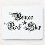 bunco rock star mouse pad