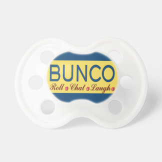 Bunco - Roll, Chat, Laugh Pacifier
