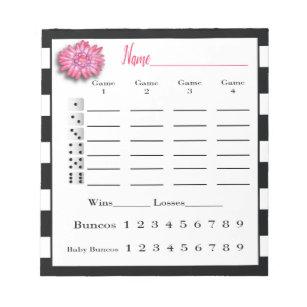graphic regarding Cute Bunco Score Sheets Printable named Bunco Bouquets Items upon Zazzle