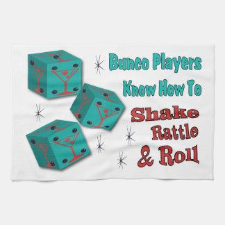 Bunco - Shake, Rattle & Roll Martini Towel