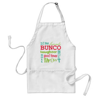 Bunco Subway Art Design By Artinspired Adult Apron