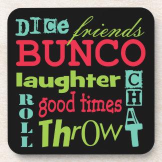 Bunco Subway Art Design By Artinspired Coaster