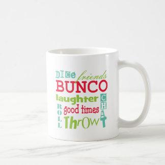 Bunco Subway Art Design By Artinspired Classic White Coffee Mug