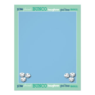 Bunco Subway Art Flyer Design