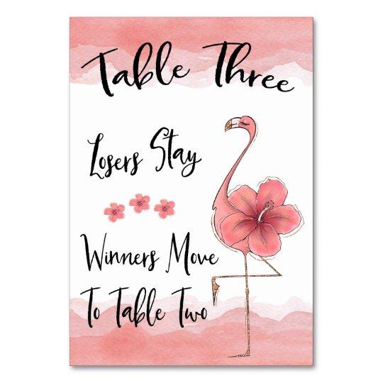 Phenomenal Bunco Table Card 3 Pink Flamingo Fun Download Free Architecture Designs Scobabritishbridgeorg