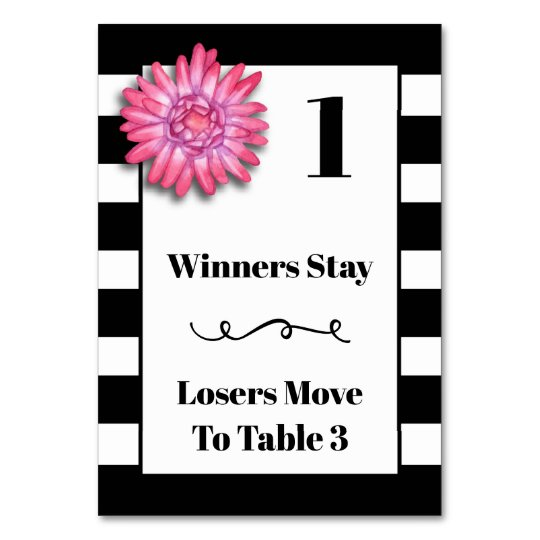 Pleasing Bunco Table Card Modern Black And White 1 Download Free Architecture Designs Scobabritishbridgeorg