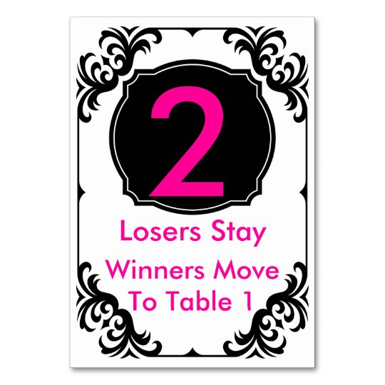 Cool Bunco Table Card Pink And Black 2 Download Free Architecture Designs Scobabritishbridgeorg