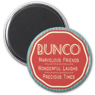 Bunco Vintage Emblem 2 Inch Round Magnet